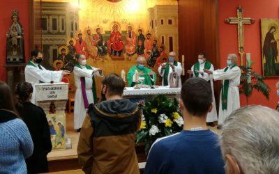 Presentación de la Comunidad Escolapia en la parroquia